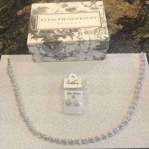 Jewelry - Elen Henderson necklace and earrings #wedding